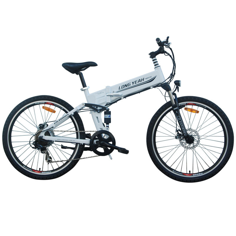 26′′ Foldable Electric Bike W Horse (TDE1301Z)