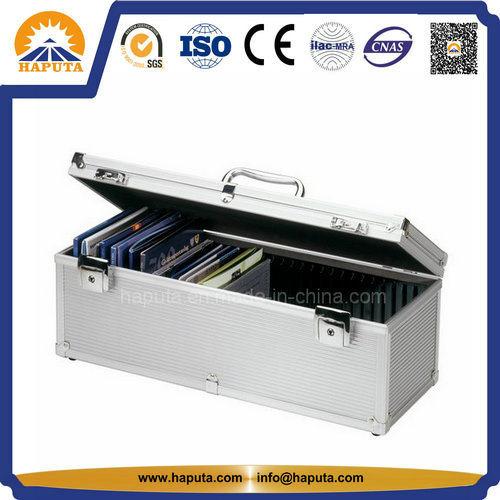 Hard Carrying Aluminium CD / DVD Storage Case (HO-1007)