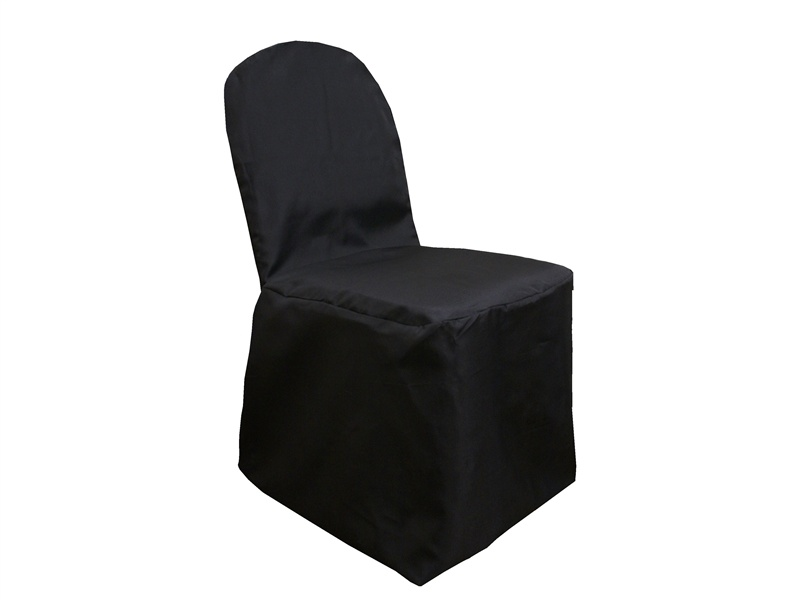 Polyester Banquet Satin Chair Cover