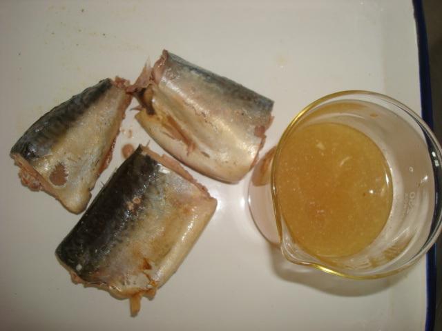 Wholesale 125g Canned Mackerel in Oil