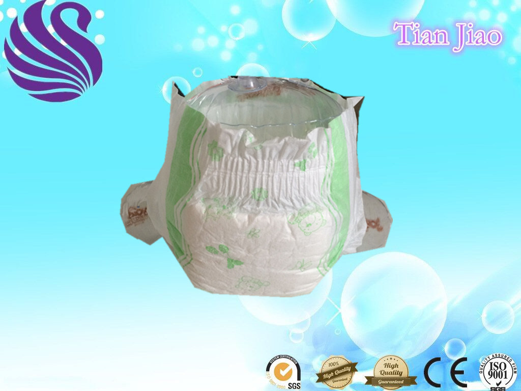 Soft Sleepy Cotton Disposable Baby Diapers with Good Quality