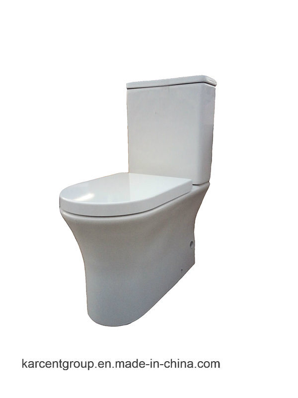 Two Piece Ceramic Toilet Ce Washdown Water Closet Wc 13315 Rimless