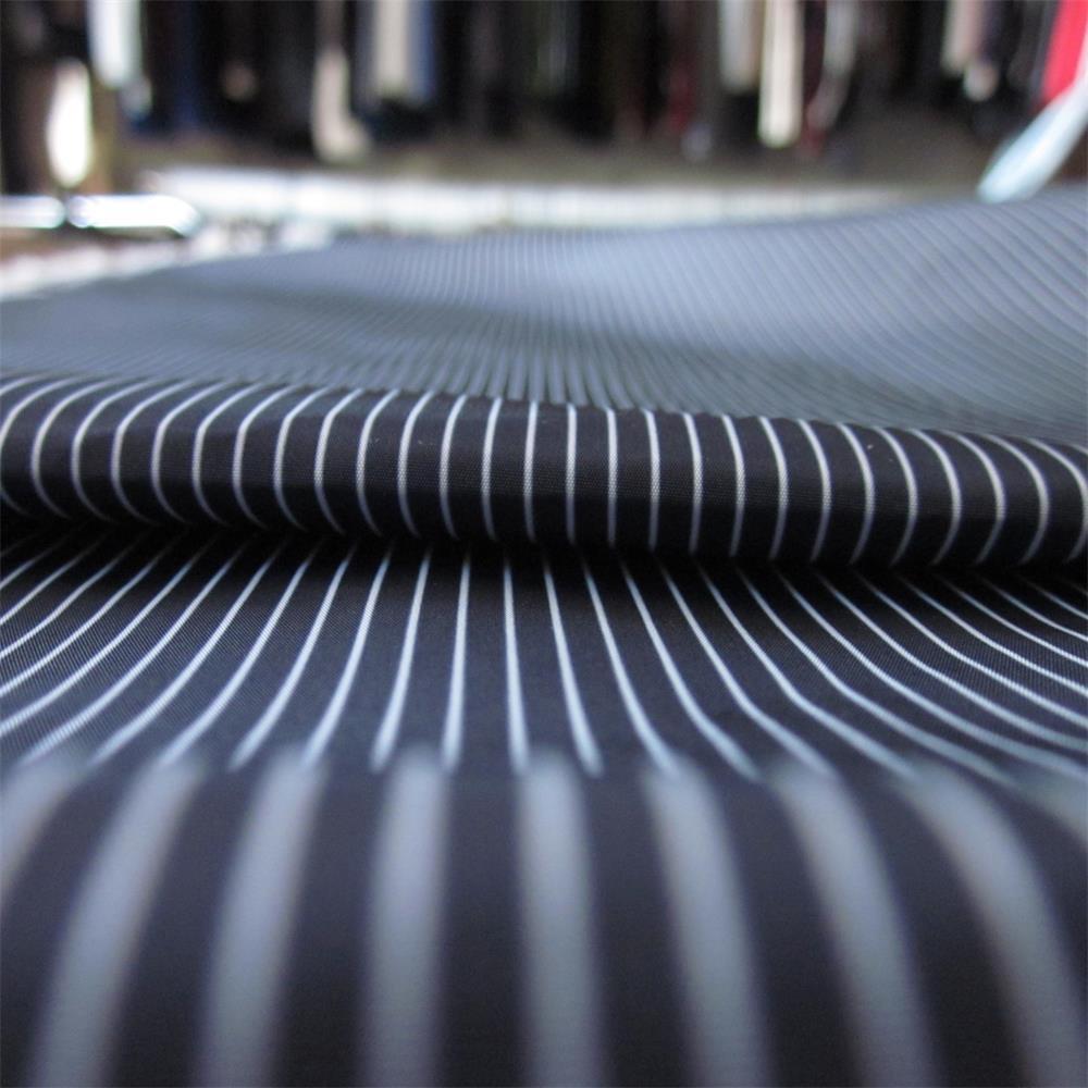 50d Waterproof Printed Polyester Imitation Memory Fabric
