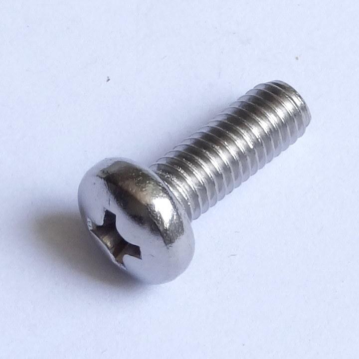 Stainless Steel Slotted Pan Head Screws DIN 85