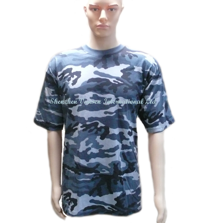 Latest Custom Camouflage T-Shirt for Wholesale