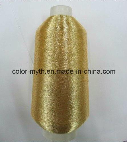 Pure Golden Ms/St Type Metallic Yarn Lurex Yarn Embroidery Yarn