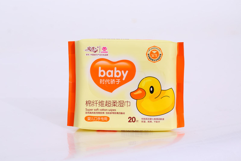 20PCS Cheap Baby Wipes Cleaning Wet Wipes