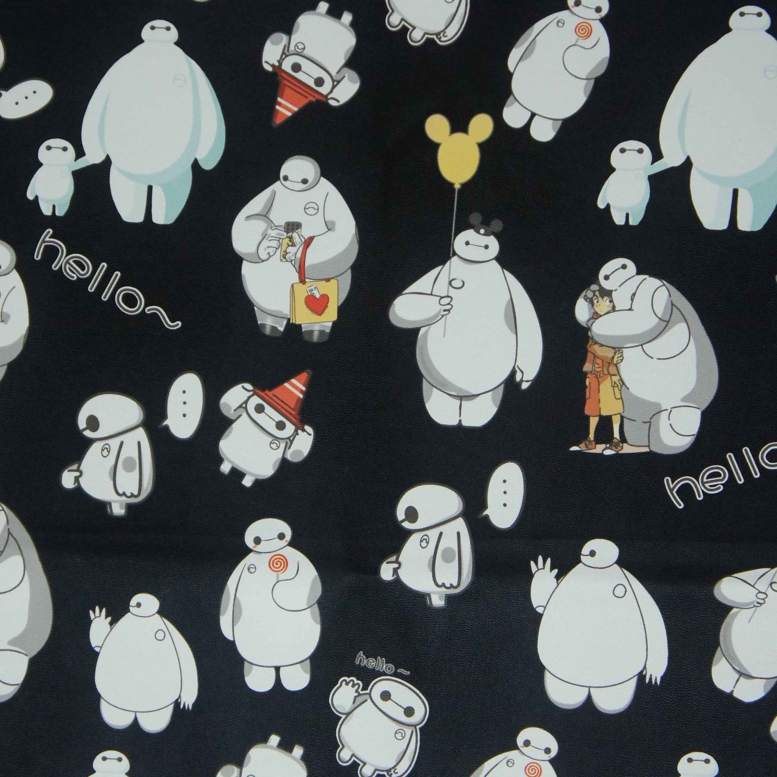 Oxford 600d High Density PVC/PU Baymax Printing Polyester Fabric (XLT-BM)