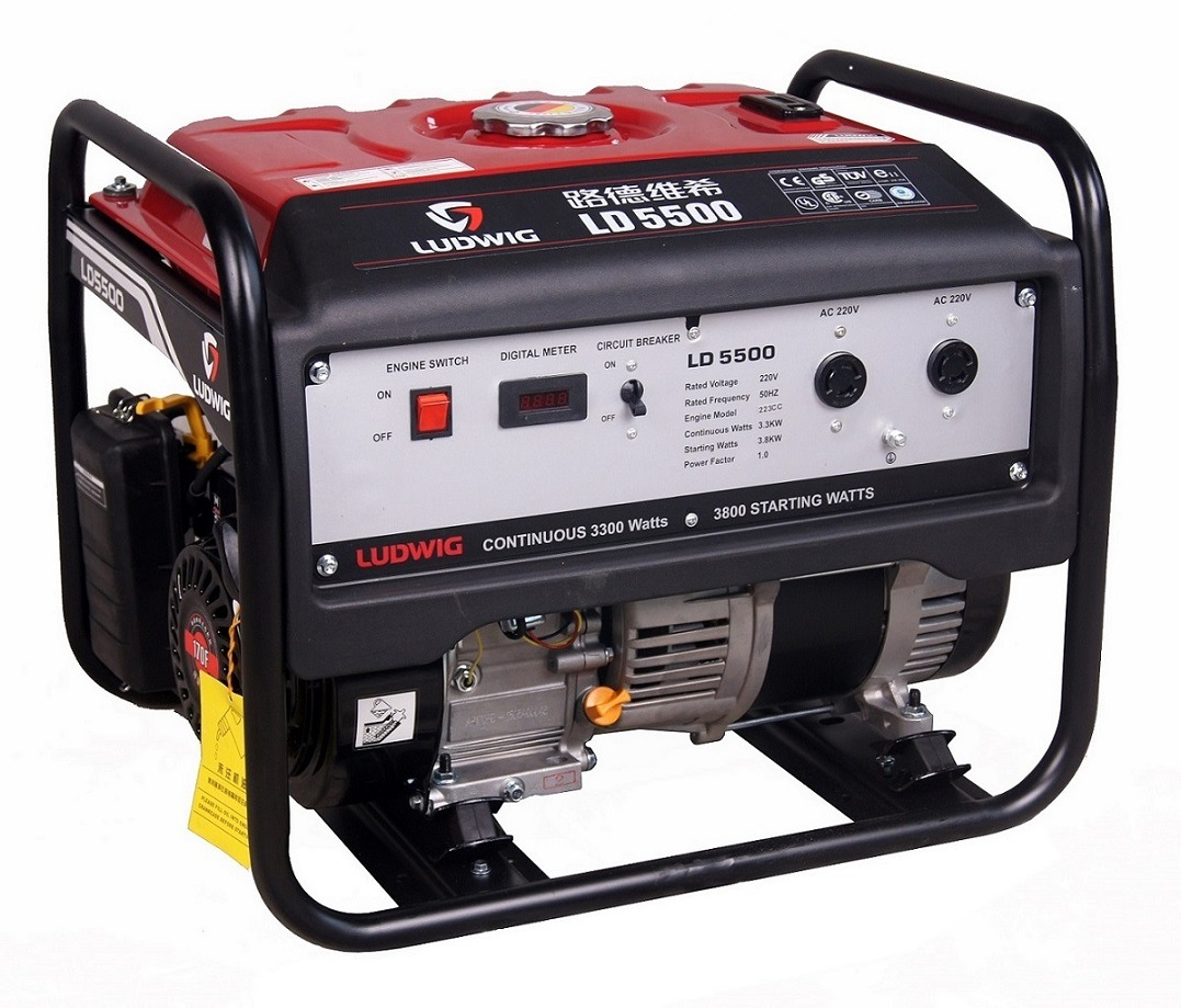 3800W Air-Cooled Gasoline Generator Set--New Type