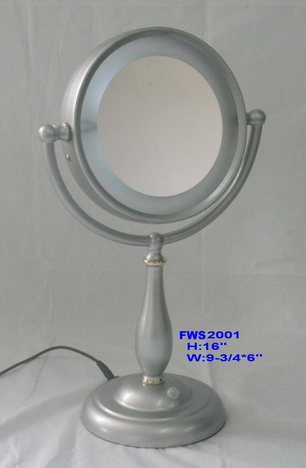 lighted makeup mirror fws1699 china cosmetic mirror makeup mirror. Black Bedroom Furniture Sets. Home Design Ideas