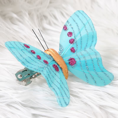 China artificial feather butterfly 001 china for Synthetic feathers for crafts