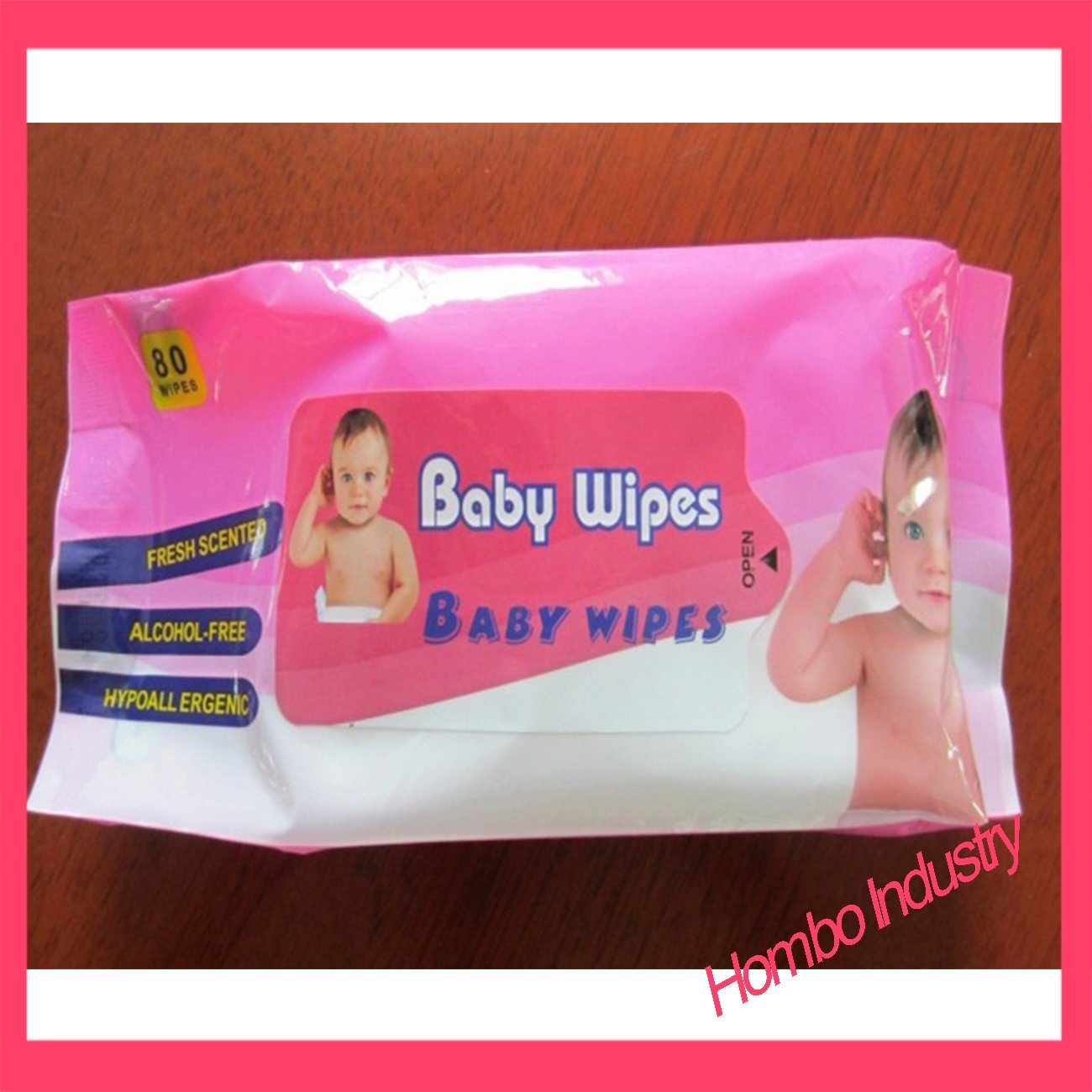 Good Quality Mat Wet Wipes Bag for Baby