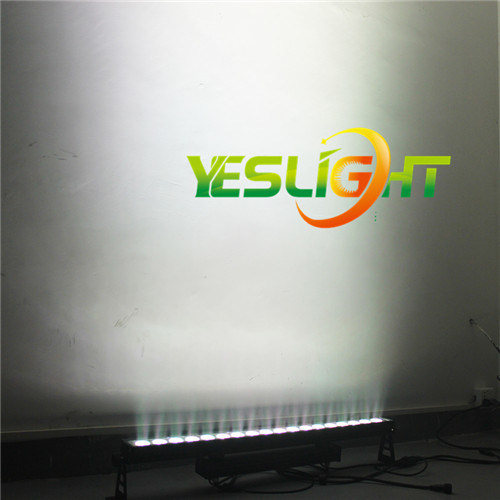CREE LED Light Bar 18PCS*18W RGBWA+UV 6in1 LEDs for Outdoor Wedding