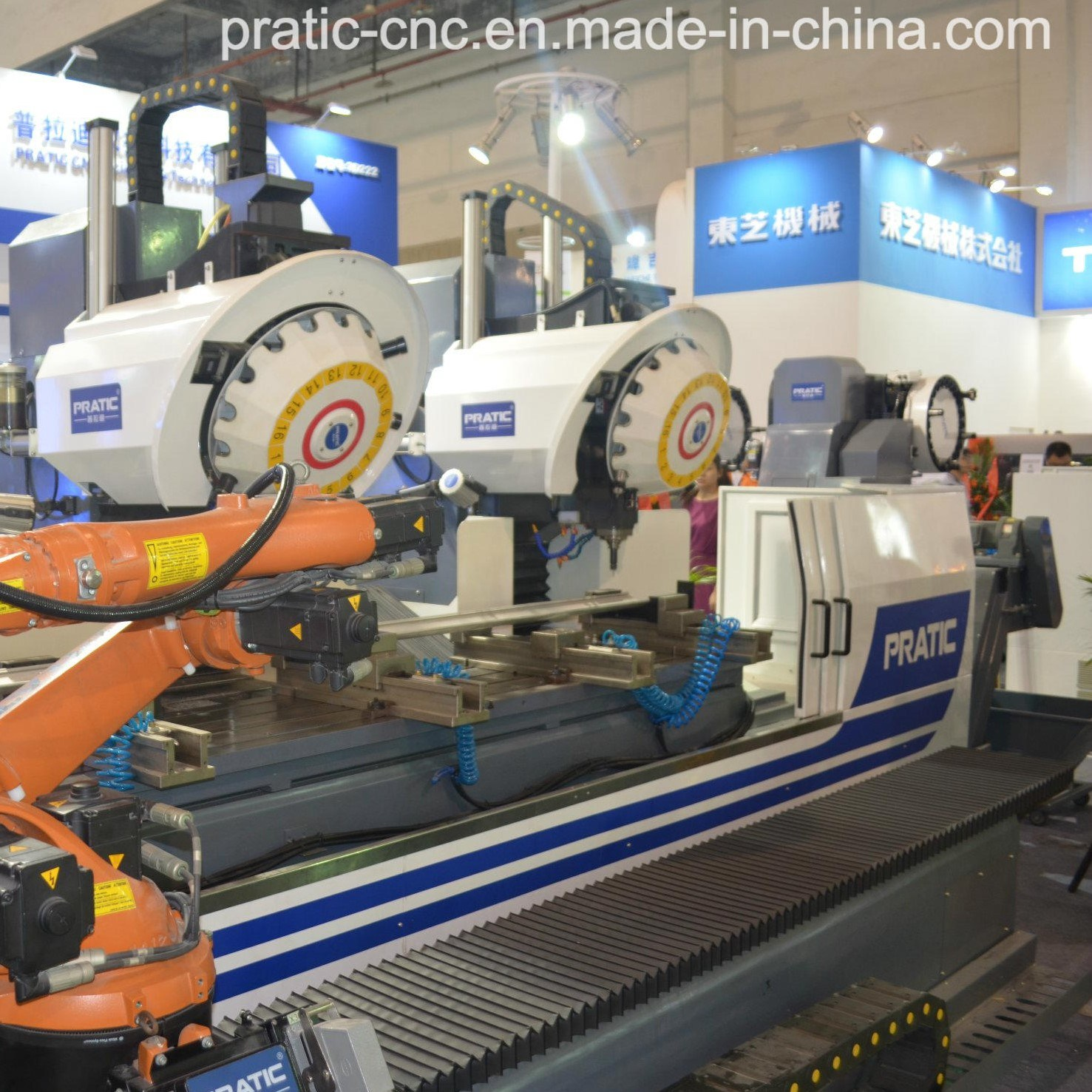 CNC Alunimum Profile Milling Machine with High Quality-Pratic Pya