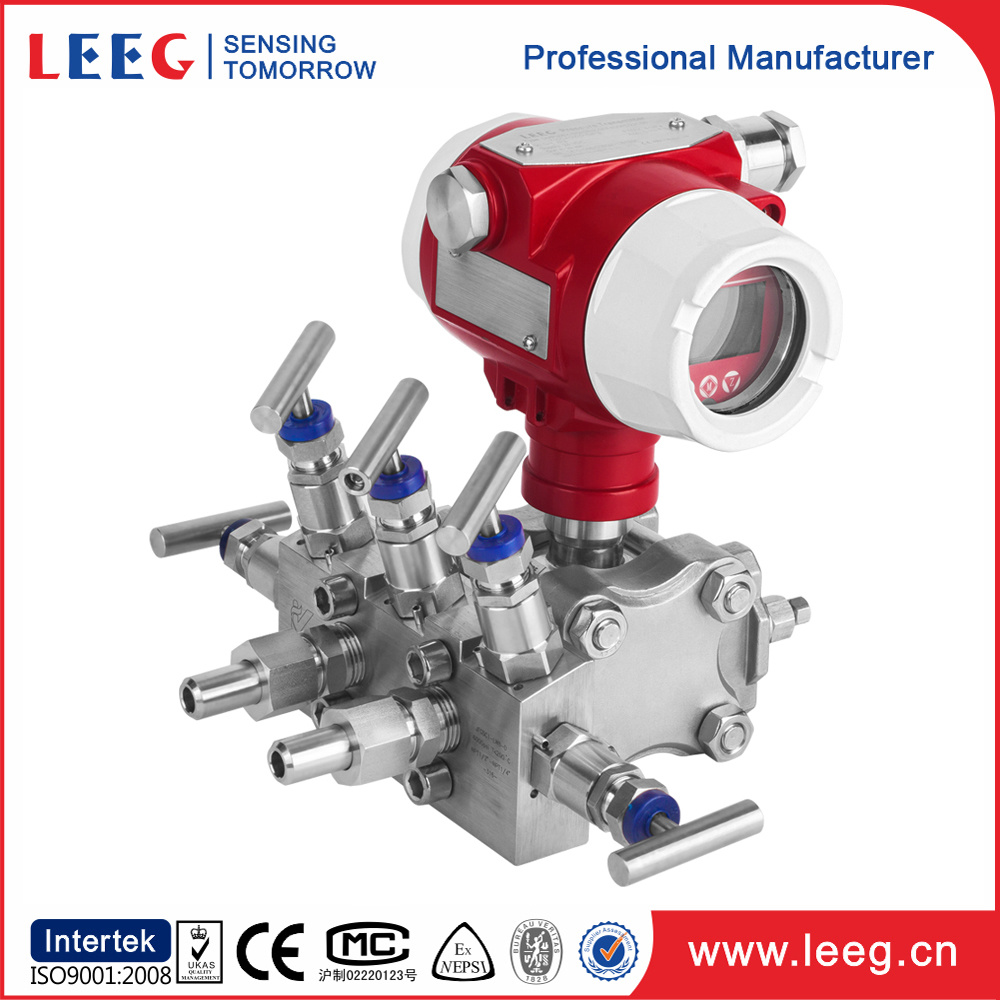 4-20mA Smart Differential Pressure Level Transmitter for Air Gas Liquid