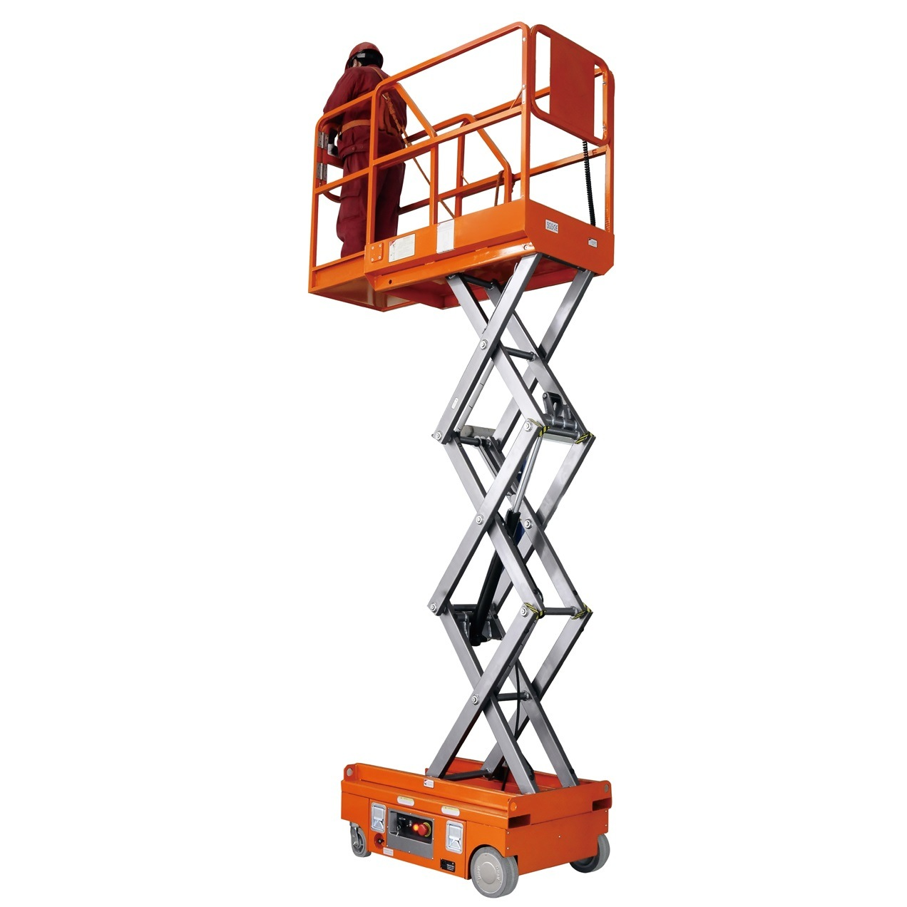 3.8m Mini Self-Propelled Scissor Lift for Warehouse Working