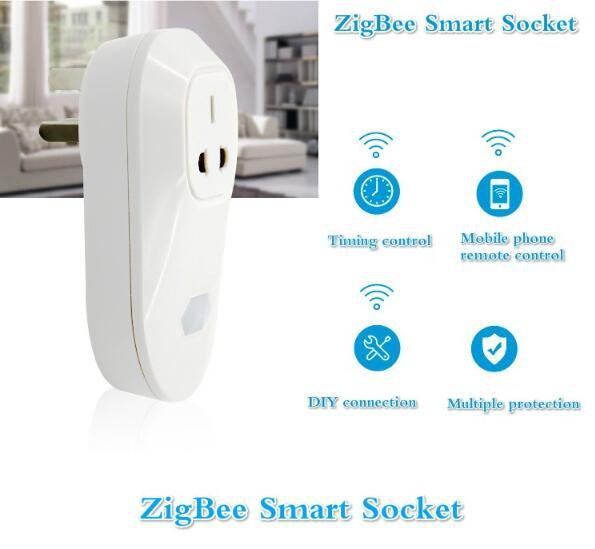 New Design Zigbee Smart Home Automation Solution Electrical Extension Socket
