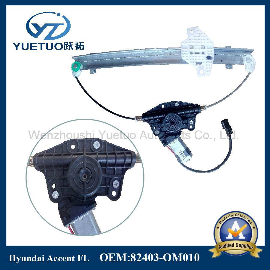 Electric Window Regulator Accent Front Left OEM 82403-Om010