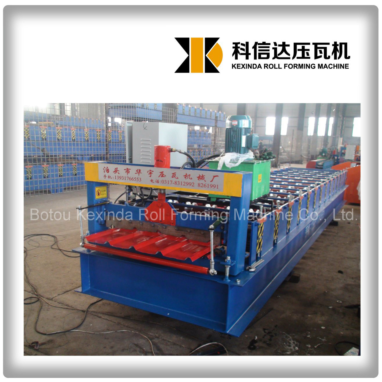Kxd-840 Ibr Roof Forming Machine Roof Tile Making Machine