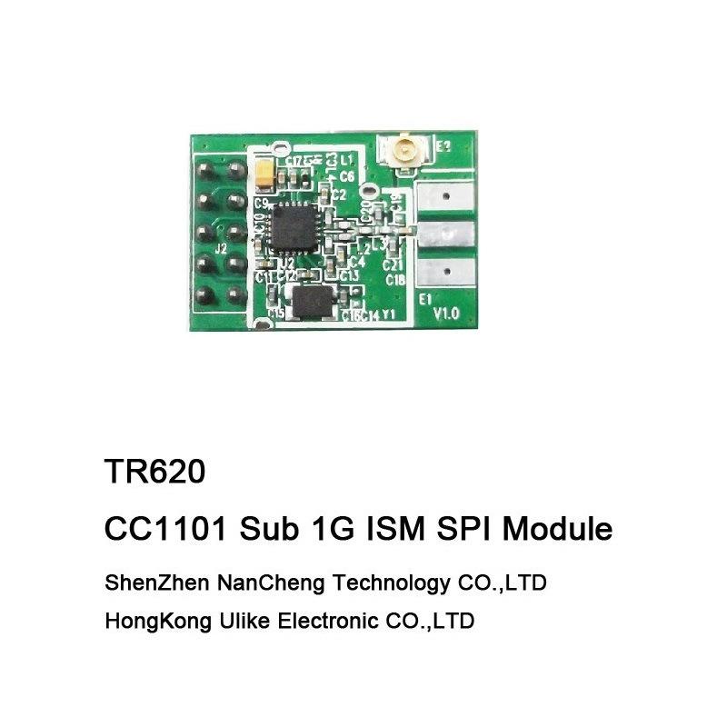 Cc1101 Wireless Module 315/433/370/868/915MHz Fsk Transceiver Module RF Module