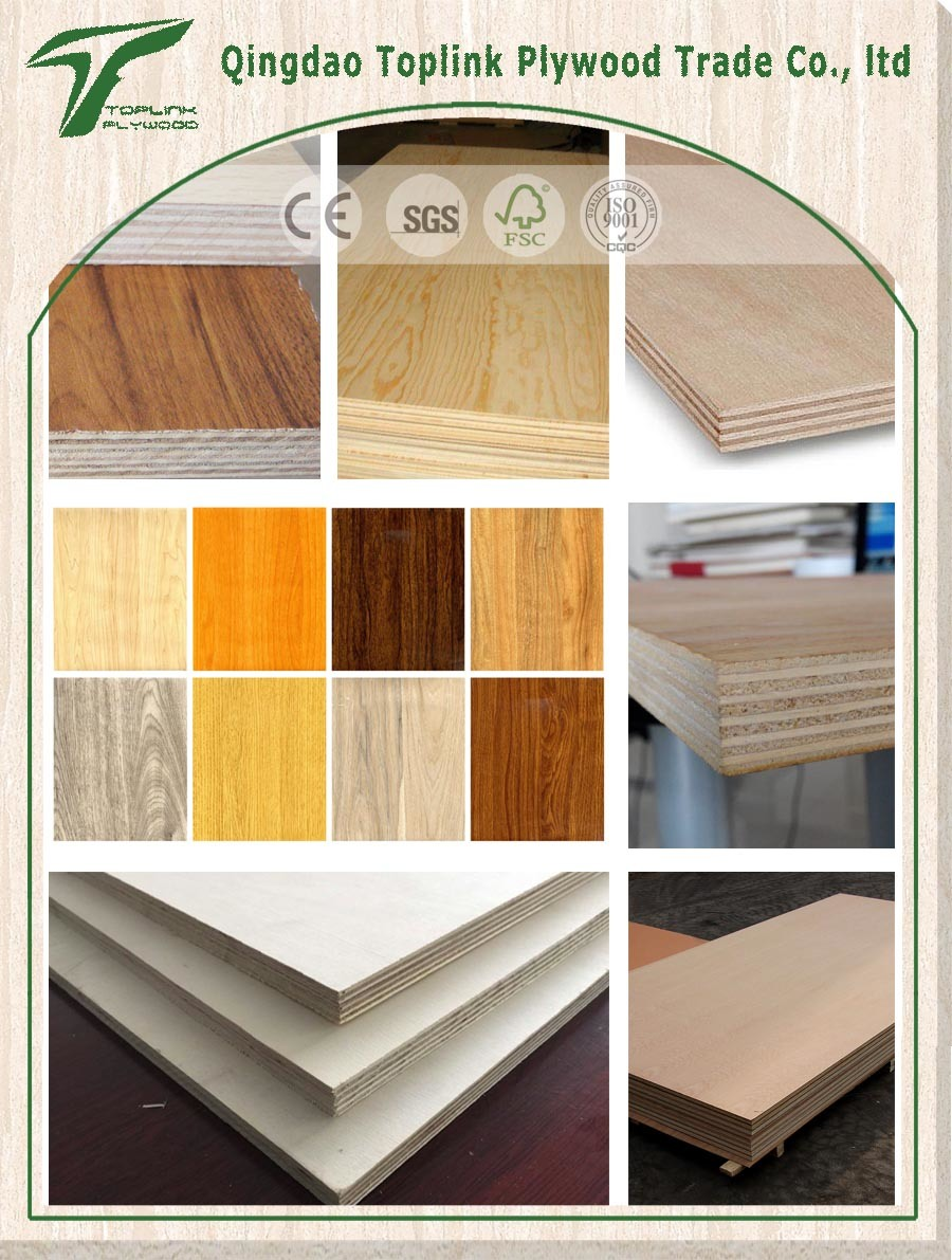 Commorcial Plywood for Furniture Grade with Different Face