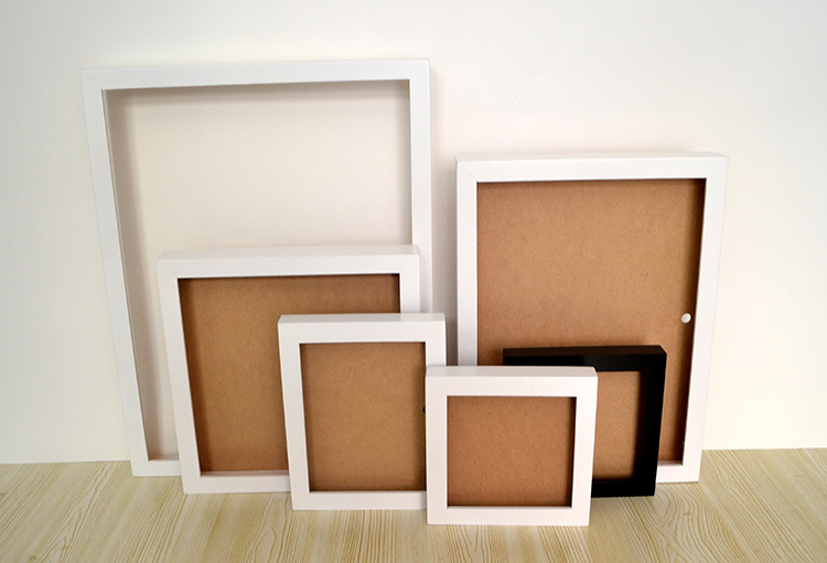 3D Deep Wooden Shadow Box Photo Frames