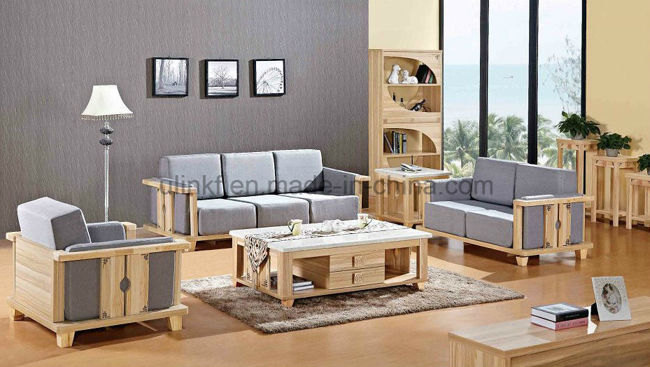 Elegant White Modern Double Bedroom Furniture with Bedstands (UL-LF021)