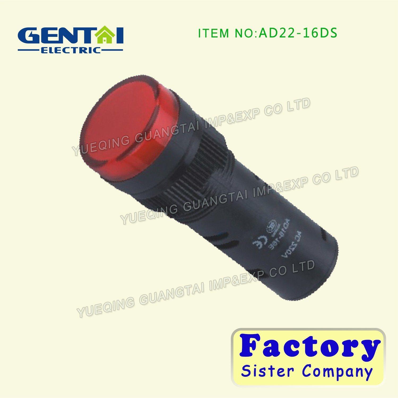 Hot Sale 12V LED Alarm Indicator Light 120V, LED 24V Indicator Lamp 220V 230V, Cheaper Indicator Light