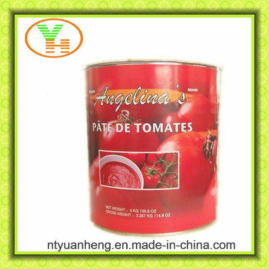 3kg*6 Canned Tomato Sauce Ketchup OEM Halal Kosher