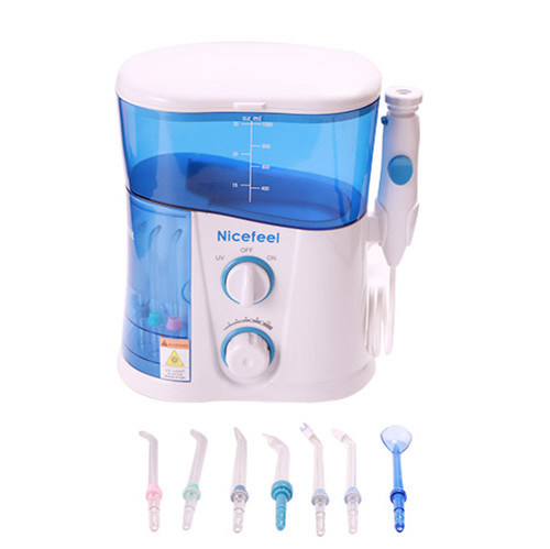 Dental Equipment Oral Water Irrigator with UV Nozzles Sterilized Lamp