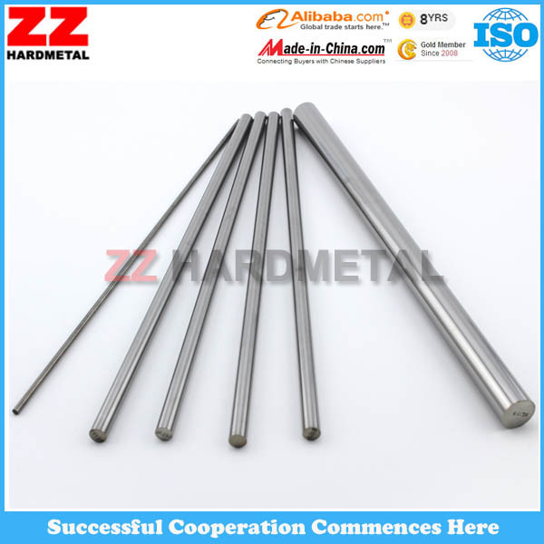 Solid Cemented Carbide Rods Tungsten Cemented Carbide Sintered Rods with Holes