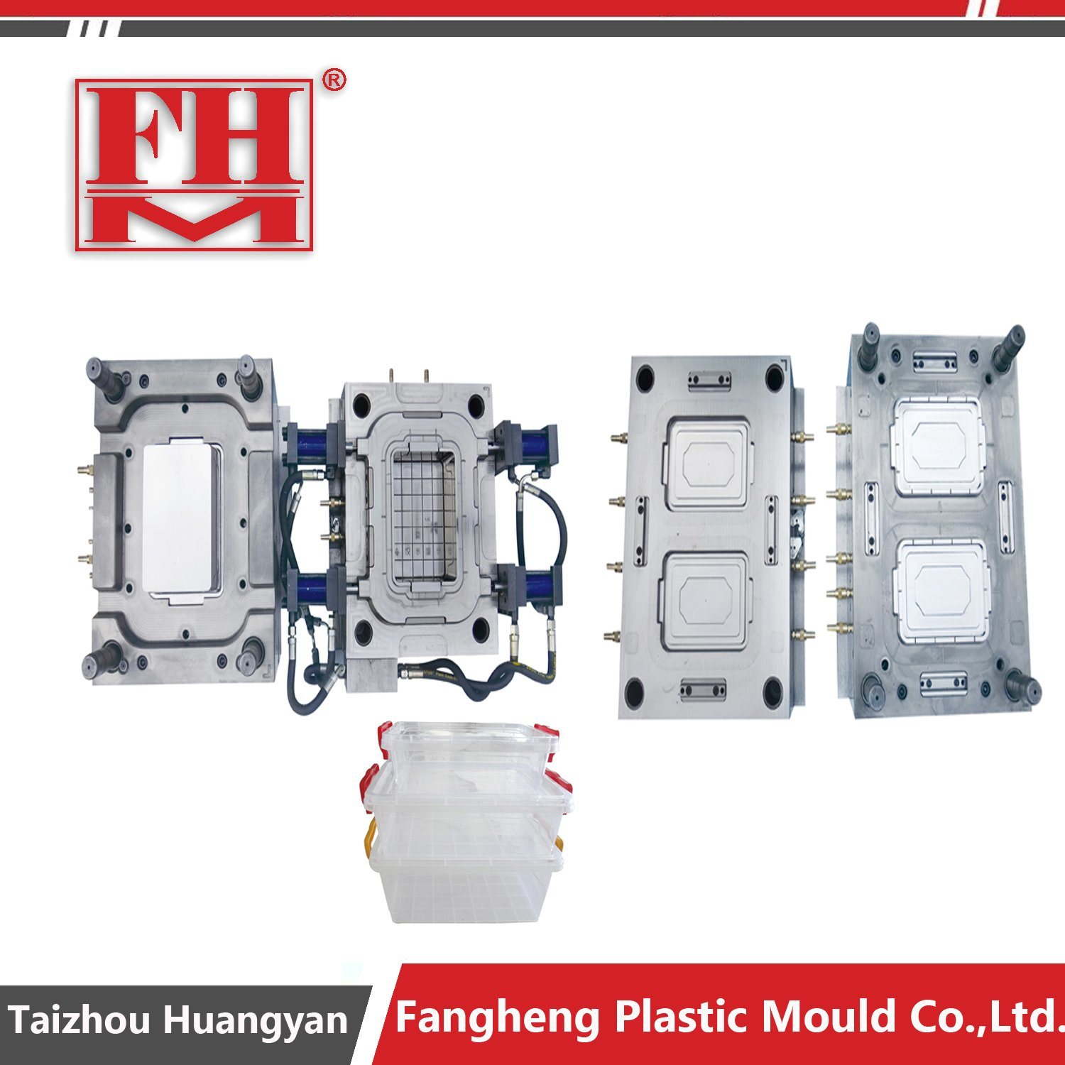 PP Crisper Airtight Transparent Preserving Box Mould