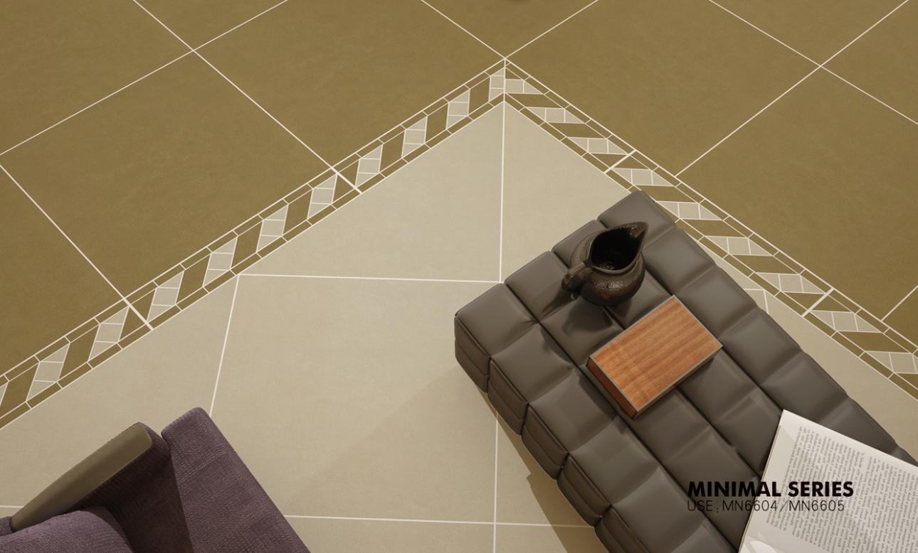 Building Material Porcelain Tiles 600*600mm Anti-Slip Rustic Grey Tile