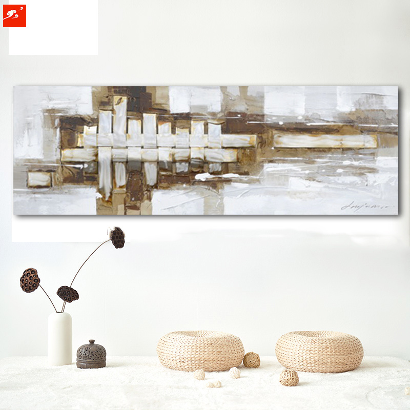 Home Decor Abstract Geometric acrylic Oil Painting