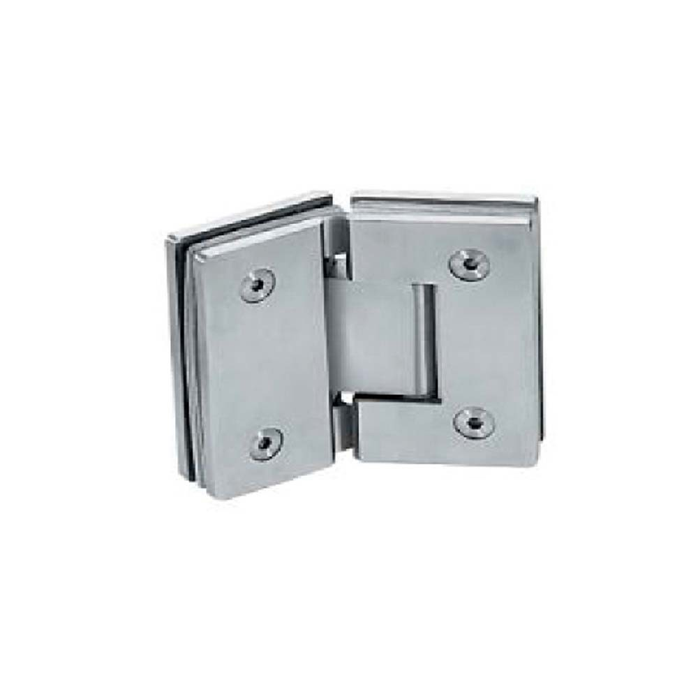 Mirror Polished Stainless Steel Shower Door Hinges