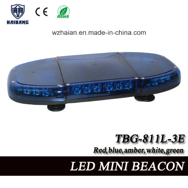 Blue LED Beacon Light Built-in Siren and Speaker for Police Cars in SMD LEDs (TBG-811L-3ES)