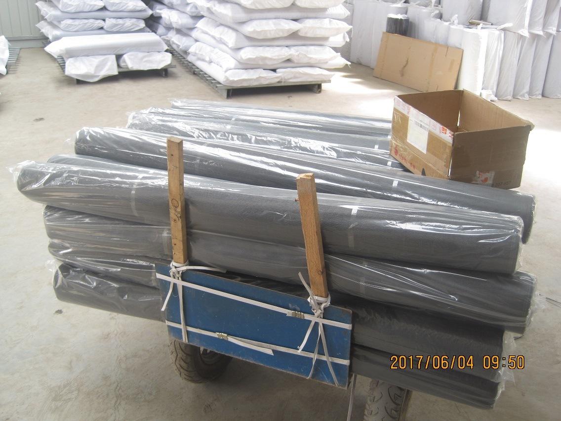 Fire Resistant Fiberglass Window Screen Net, 18X16, 120G/M2, Grey or Black Color