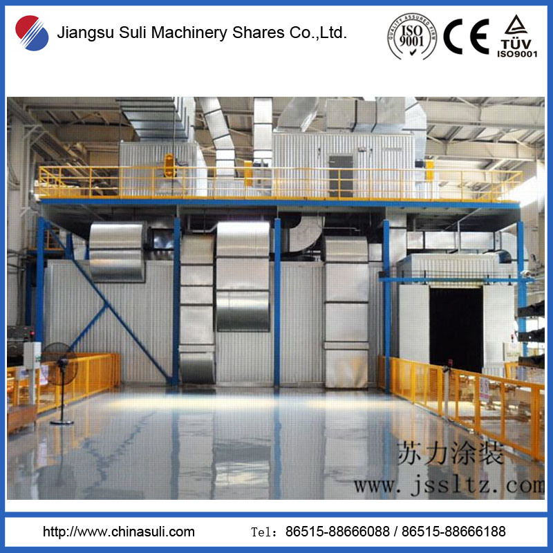 Automobile Spraying Paintings Industrial Coating Drying Room with ISO Approved