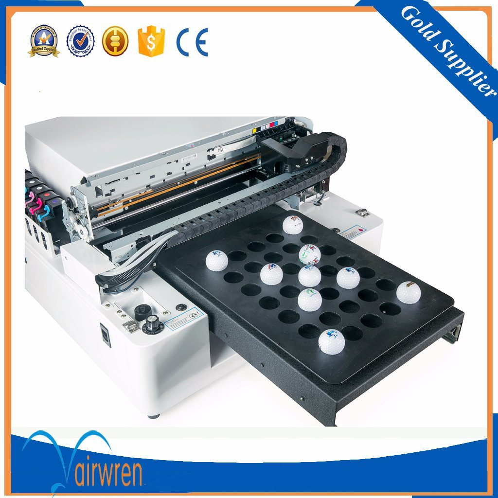 A3 UV LED Full Color Printer for Pen Golf Ball UV USB Card Printing Machine