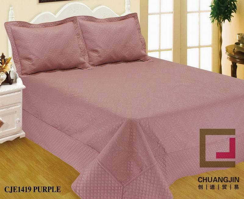 100% Polyester Ultrasonic Quilt (BEDDING SET)