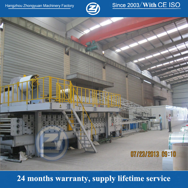 Continuous PU Sandwich Panel Production Line Machine