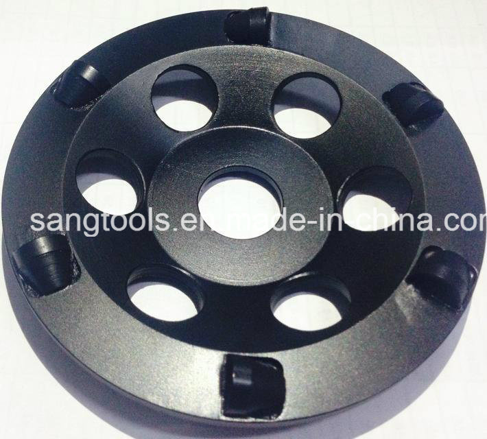 PCD Cup Wheel for Concrete Floor Grinding