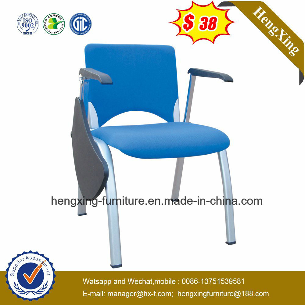 Metal Legs Student Folding Classroom Chair with Adjustable Writing Table Pad (HX-TRC008.1)