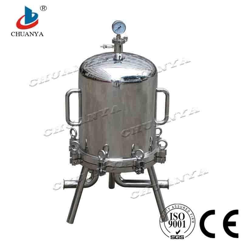 Stainless Steel Lenticular Filter Housing