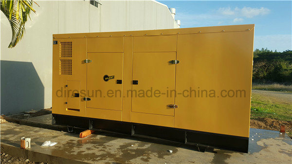 China 50Hz 100kVA Soundproof Diesel Generator with Cummins Engine