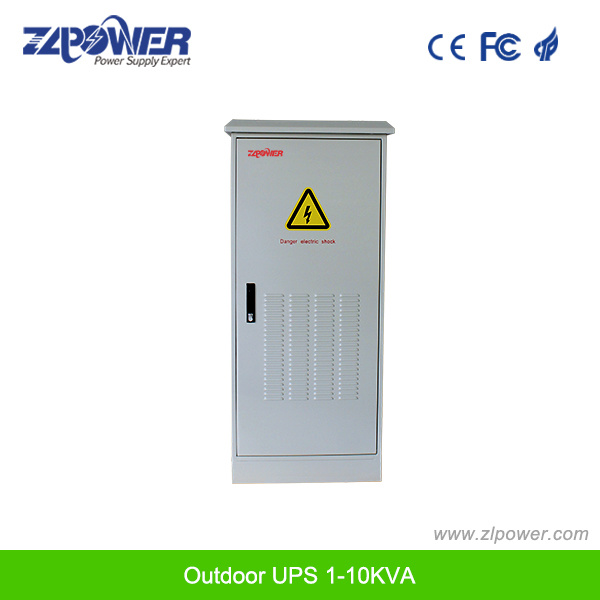 Pure Sine Wave Power Supply Outdoor UPS 1kVA to 10kVA