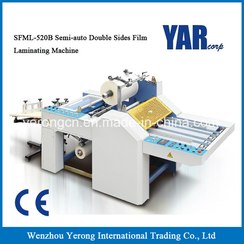 Top Sale Small Size Thermal Film Laminator Machine for Double Sides Paper