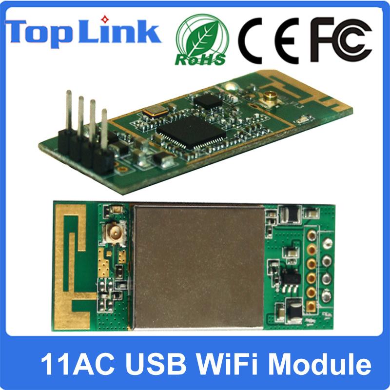 433Mbps Embedded 11AC 2.4G+5g Dual Band USB WiFi Module