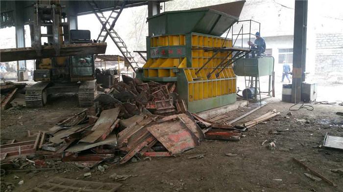 Ws-500 Horizontal Scrap Metal Shear Machine
