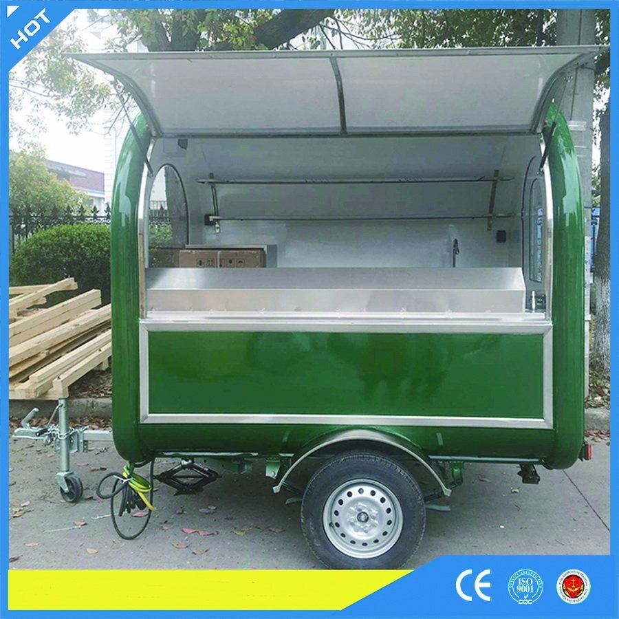Yieson Made Food Cart Trailer for Snack